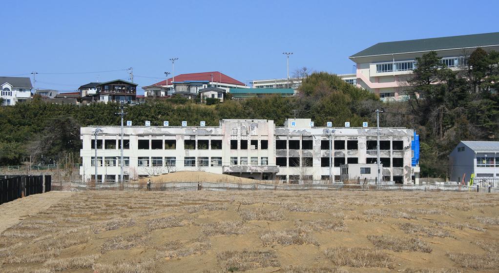 The site of Kadonowaki nursery school